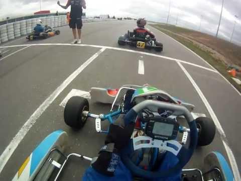 Go Pro Onboard HD Los Arcos, 2 Race Campeonato Navarro Karting 4ª prueba 2011