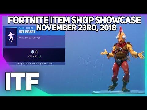 Xxx Mp4 Fortnite Item Shop NEW AND FREE HOT MARAT EMOTE November 23rd 2018 Fortnite Battle Royale 3gp Sex