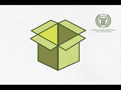 Adobe Illustrator CS6 | Logo Design Tutorial - How to design 3d box logo