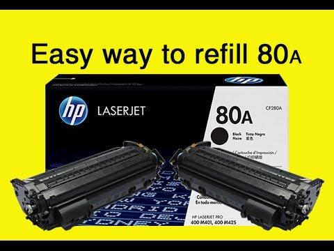 HP 80a Toner Refill