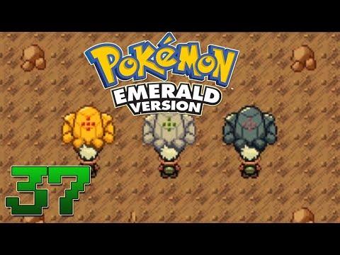 Let's Play Pokemon Emerald Part 37 - RegiRock Registeel Regice