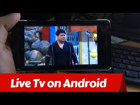 Live TV on Android Phone (Hindi)