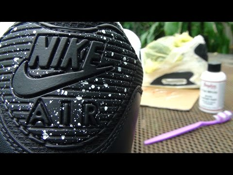 How to Customize your Sneakers ( Speckles / Splatter / Speckling Effect) Tutorial Video pt 1