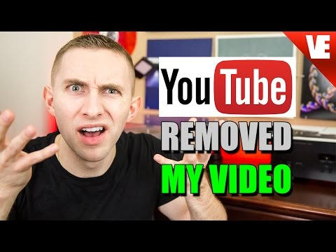 YOUTUBE REMOVED MY VIDEO?!