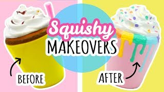 5 Squishy Makeovers | Re-Decorating Cheap Squishies