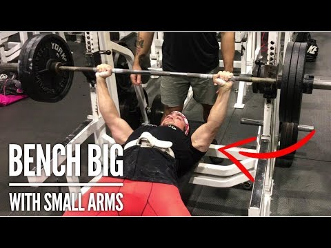How to Bench 315lb For Reps With Small Arms (What I Do)