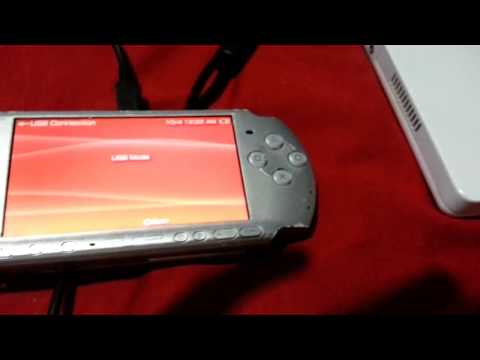How to charge a PSP with a USB cable