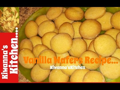 How to Make Vanilla Wafers *Kiwanna's Kitchen*