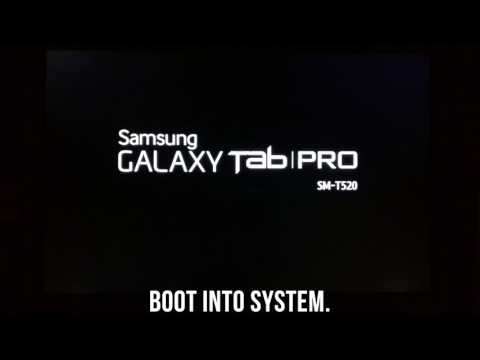 Resurrection Remix 5.8.3 | Galaxy Tab Pro 10.1 SM-T520 How to Flash Android 7.1.2 ROM Update Install