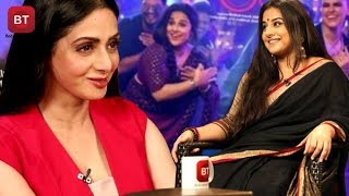 Tumhari Sulu Actress Vidya Balan Prompt Reply On Chosing Sridevi Over Madhuri Dixit
