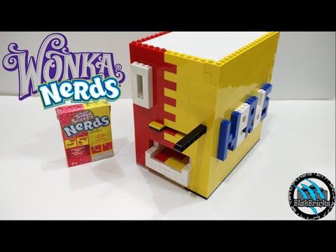 Lego Wonka NeRdS Candy Machine