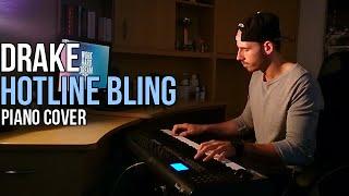 Drake - Hotline Bling (Piano Cover by Marijan) + Sheet Music