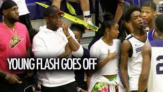 Zaire Wade GOES OFF With Bronny James! LeBron And Dwyane Wade CANT GET ENOUGH!