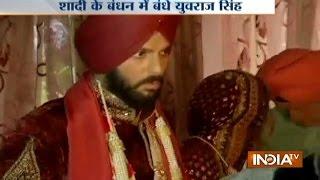 Watch: Visuals from Yuvraj Singh and Hazel Keech Wedding Ceremony at Gurdwara Fatehgarh Sahib