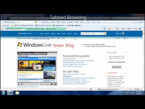 Using e-mail and the Internet in Windows 7