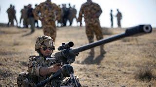 Iran made 23x152B mm anti material sniper rifle dubbed Baher تفنگ تك تيرانداز ضدزره باهر ايران