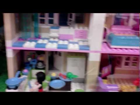 Lego Friends Sets on display