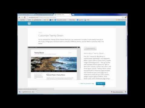 How to Create a Simple Blog using WordPress.com