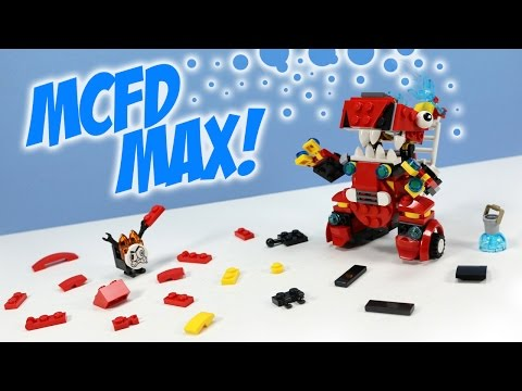 Lego Mech Design 06 Example Mech Instructions Art Of Lego