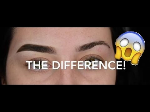 ARCHED TO STRAIGHT | EASY FULL STRAIGHT BROW TUTORIAL