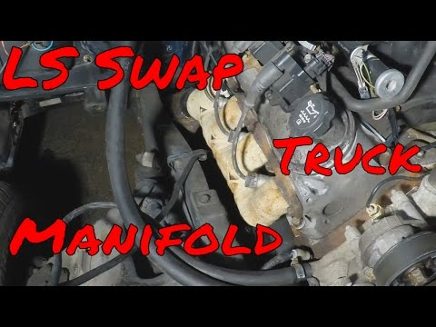 How to make C10 LS Swap Exhaust From Stock truck Manifold