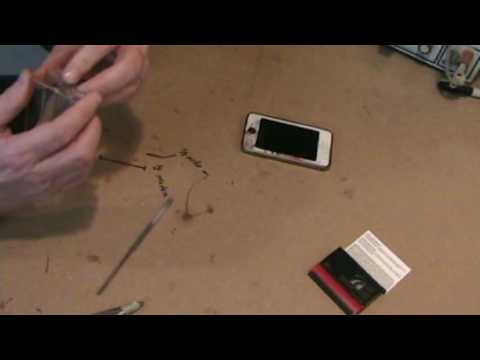 DIY Mike How to make an iTouch iPhone iPod stand