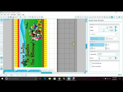 How to save a studio file as a PDF in Silhouette Cameo
