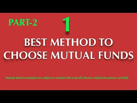 HOW TO SELECT A BEST MUTUAL FUND FOR SIP INVESTMENT ? PART-2