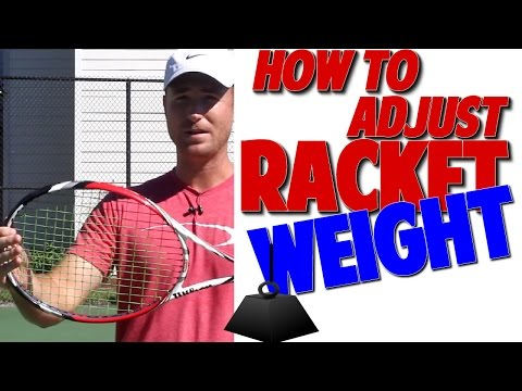 How to Adjust Racket Weight Like all the Top Pros (Top Speed Tennis)