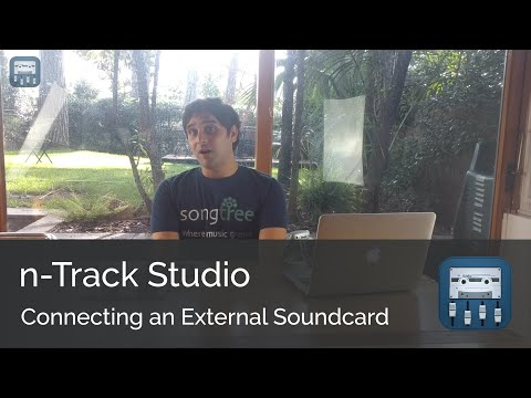 Connecting your external sound card || n-Track Studio Android Tutorial Series (Intermediate)