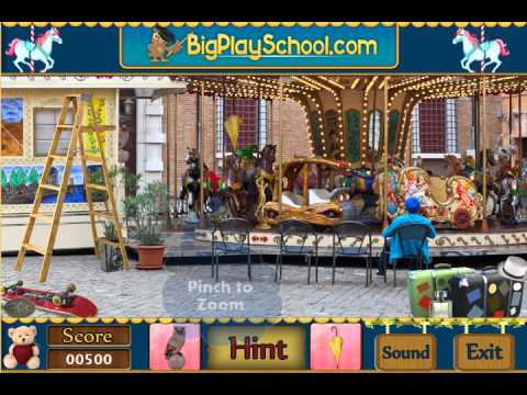 Merry-Go-Round - Free Find Hidden Objects Games