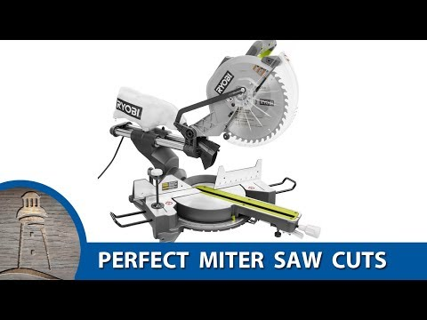 PERFECT MITER CUTS EVERY TIME