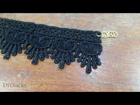 3 LACE JEWELRY TUTORIAL (DIY)