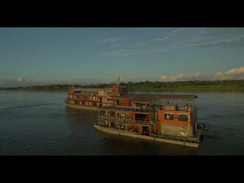 Panasonic 4K Amazon Rainforest Drone video