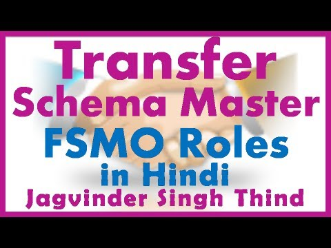 Transfer Schema Master - Active Directory FSMO Roles Part 11