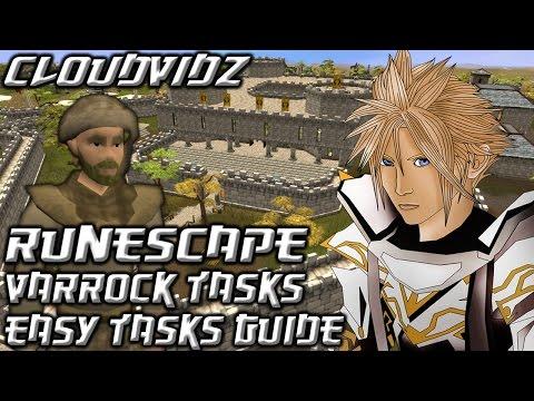 Runescape Varrock Easy Tasks Guide HD