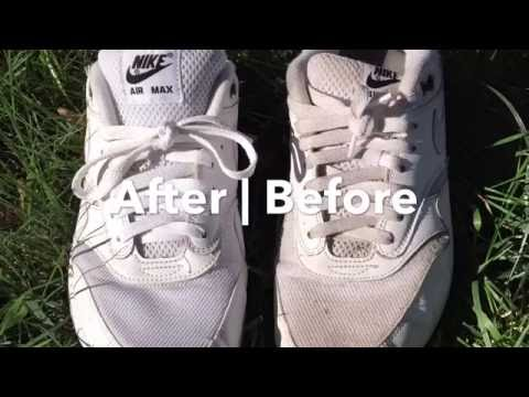 How To Clean White Air Max