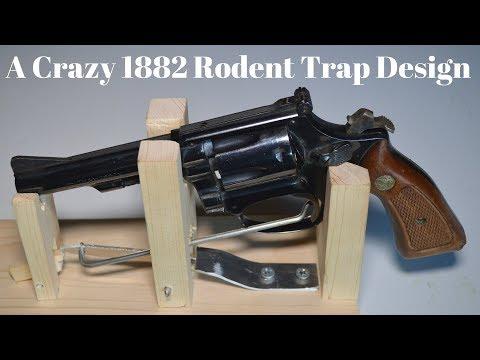 A Crazy 1882 Rodent Trap Design.