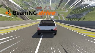 BeamNG drive - FIAT UNO VS RAMPA.