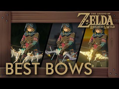 Zelda Breath of the Wild - Best Bows by Damage + Durability