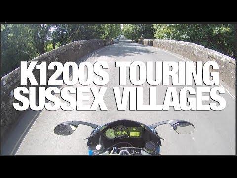 ★ BMW K1200S ★ Motorcycle Ride Through Sussex - Arundel, Storrington, Petworth, Goodwood