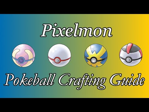 Pixelmon Pokeball Crafting Guide | Complete Guide with All Pokeball Recipes