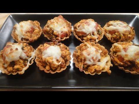 Baked Chicken Tarts | Sanjeev Kapoor Khazana