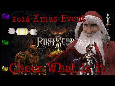 2014 Runescape Xmas Event: Cheer, Enchanted Snow And More