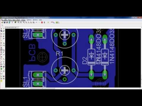 How to Design PCB Layout using Eagle (CadSoft)