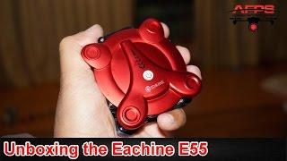 Eachine E55 Folding Pocket Drone Unboxing