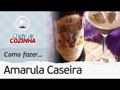 AMARULA CASEIRA RÁPIDA E FÁCIL (RENDE MUITO) | MANUAL DA COZINHA #82