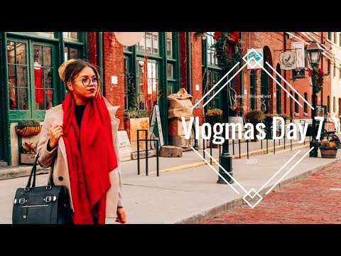 Holiday 2017 with Sally Hansen – Follow Me Around the Distillery District | Ashley Bloomfield