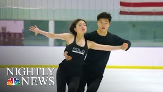 After placing 9th in Sochi, the Shib Sibs are back to compete in PyeongChang | NBC Nightly News