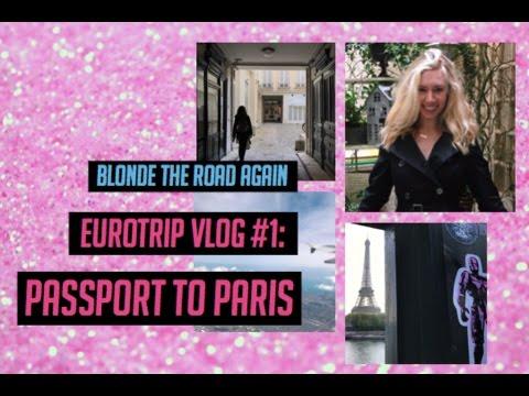 EUROTRIP VLOG: FIRST TIME IN PARIS